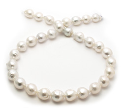 Baroque Freeform South Sea Pearl Necklace