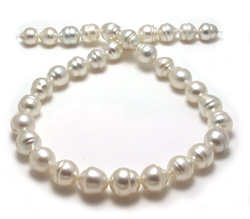 Circle South Sea Pearl Necklace