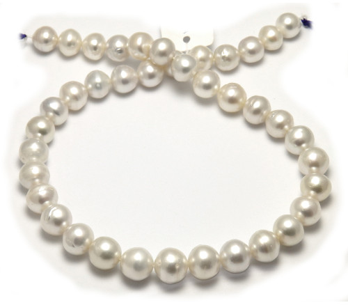 Semi Round South Sea Pearl necklace