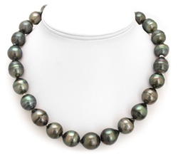 17mm Huge Tahitian Pearl Necklace
