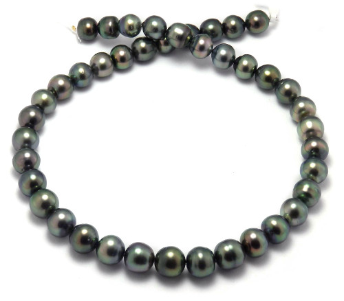 Green Tahitian Pearl Necklace