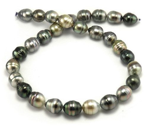 Multi Colored Tahitian Pearl Necklace