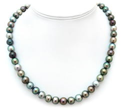 Off  Round Tahitian Pearl Necklace