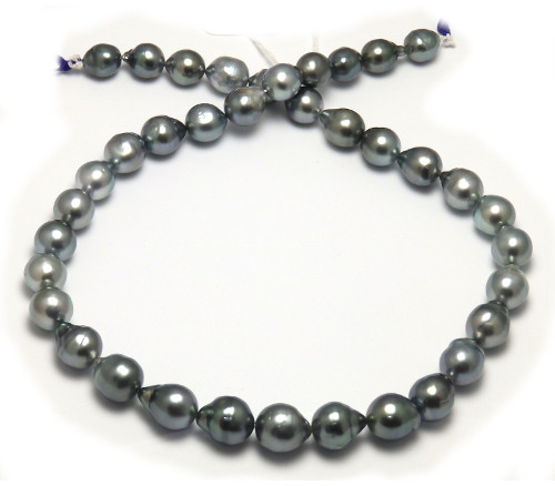 Gray Tahitian Pearl Necklace