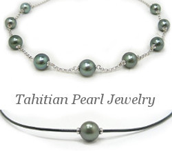 Tincup Tahitian Pearl Necklace